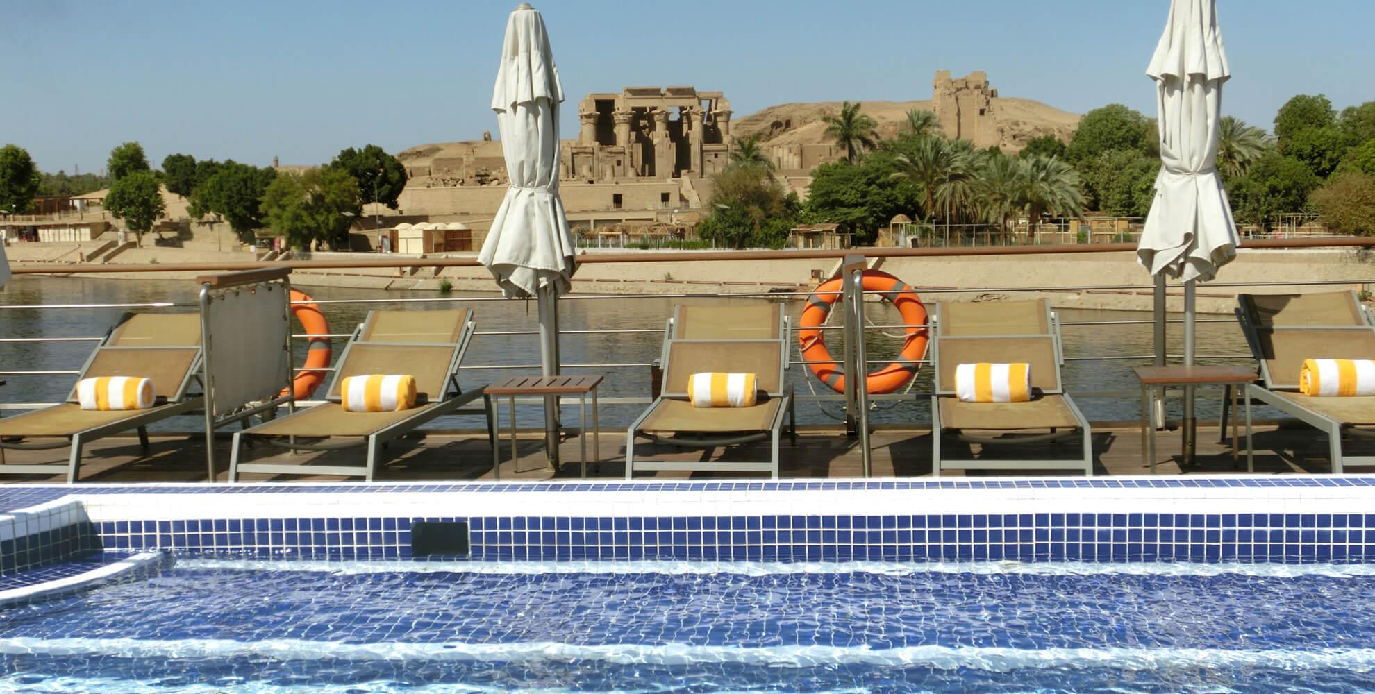 Das Niltal in Oberägypten